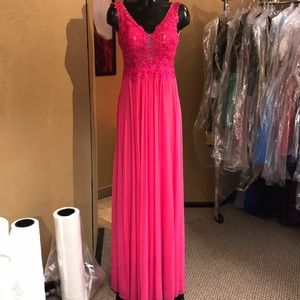 Sherri Hill Fushia Prom Dress 0